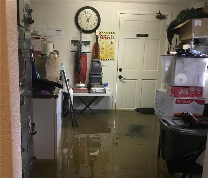Flooded home in Napa County Before